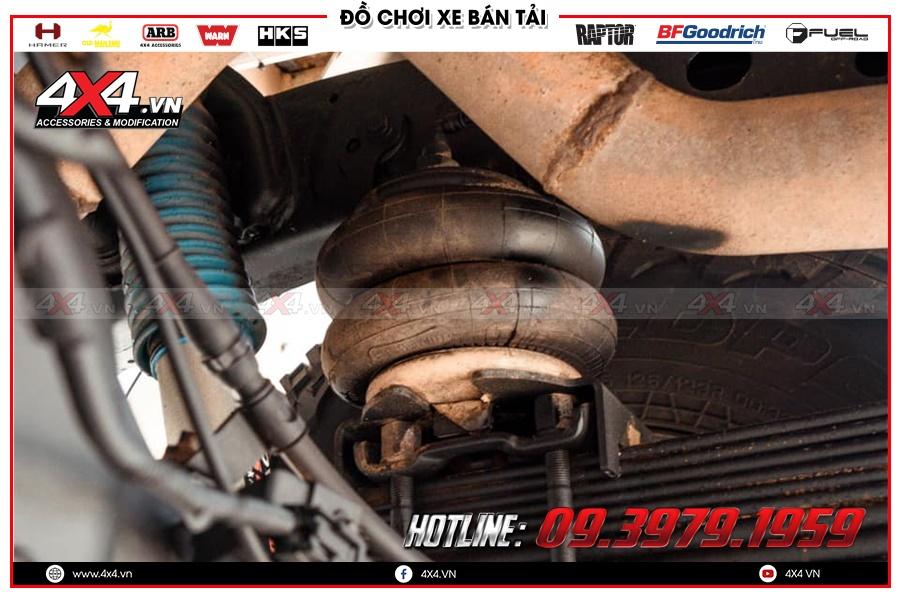 Trải nghiệm Airbag bầu hơi bền và chất lượng dành cho bán tải
